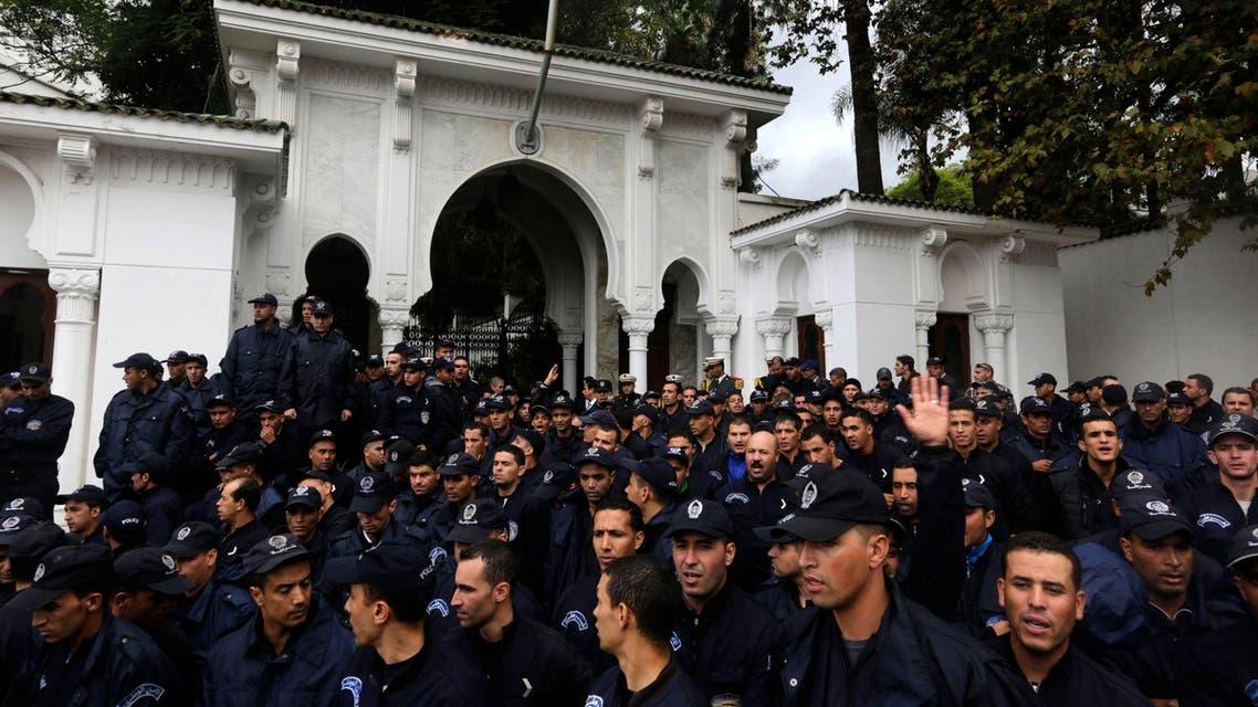 اعتصام للشرطة الجزائرية اعتصام الشرطة في الجزائر