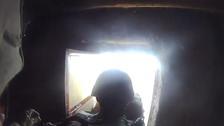 Video: U.S. marine survives Taliban sniper headshot