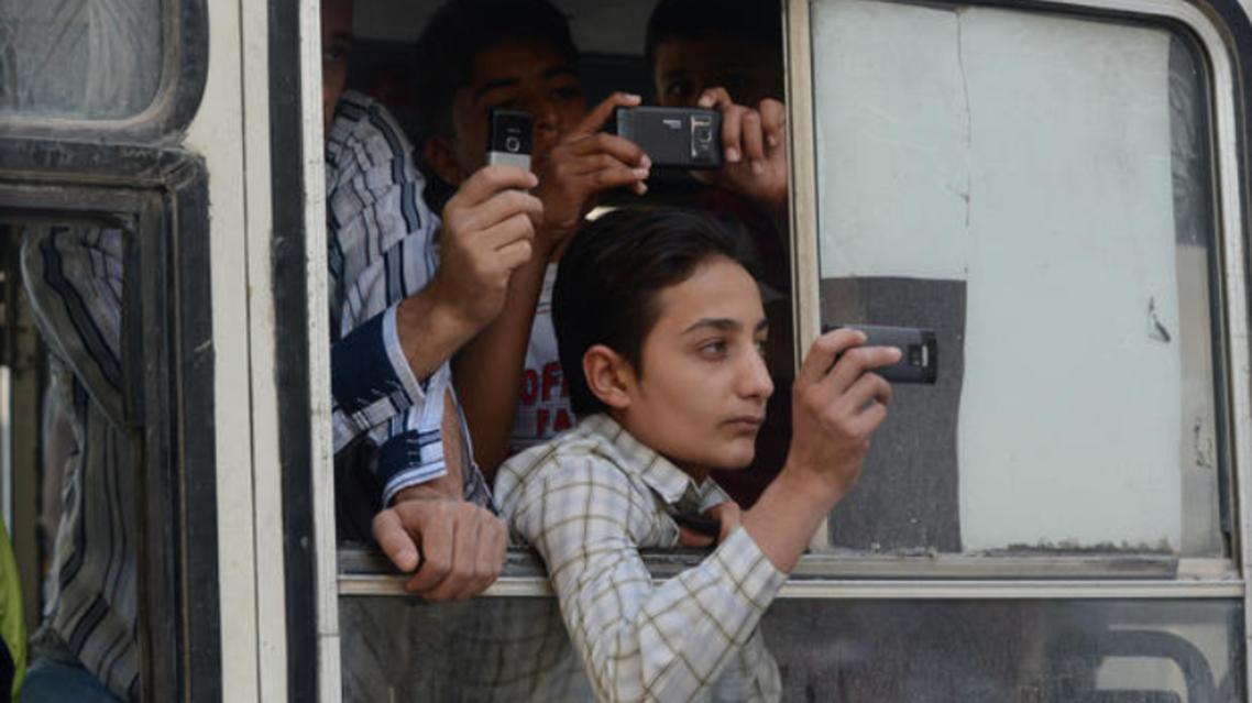 syria phone afp