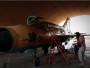 داعش يحلق بطائرات حربية في سماء سوريا