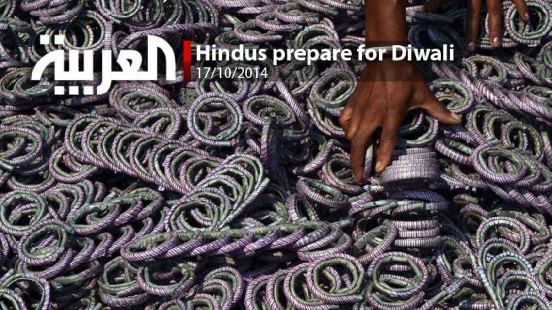 Hindus prepare for Diwali