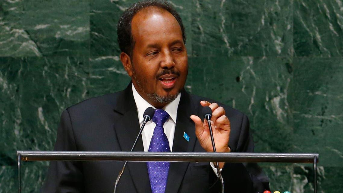 الرئيس الصومالي الصومال