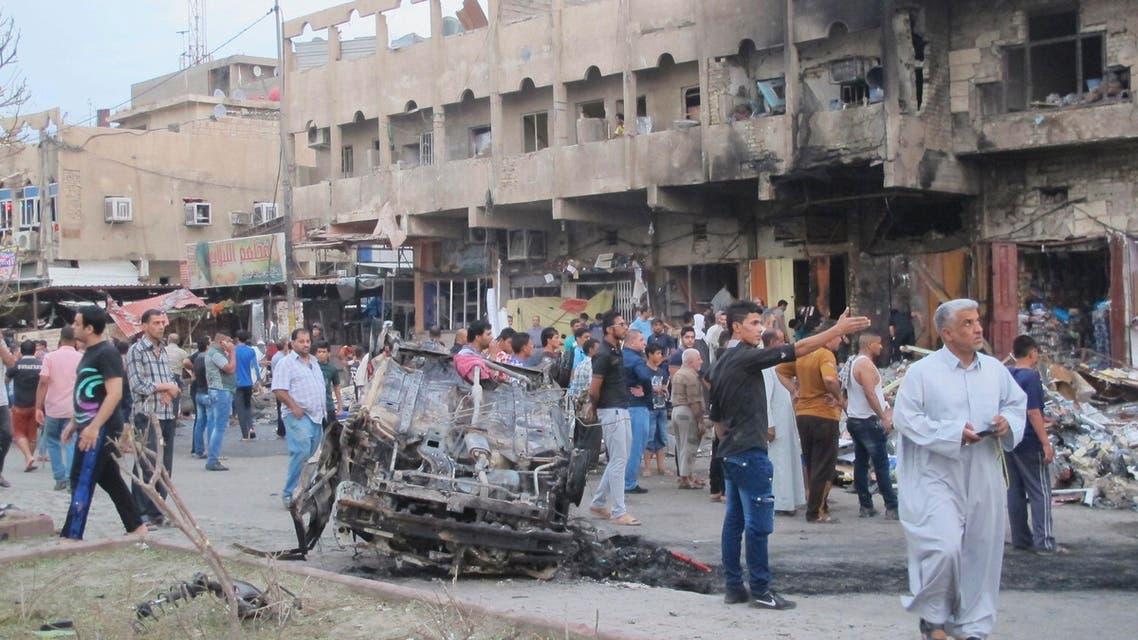 العراق بغداد تفجير iraq baghdad