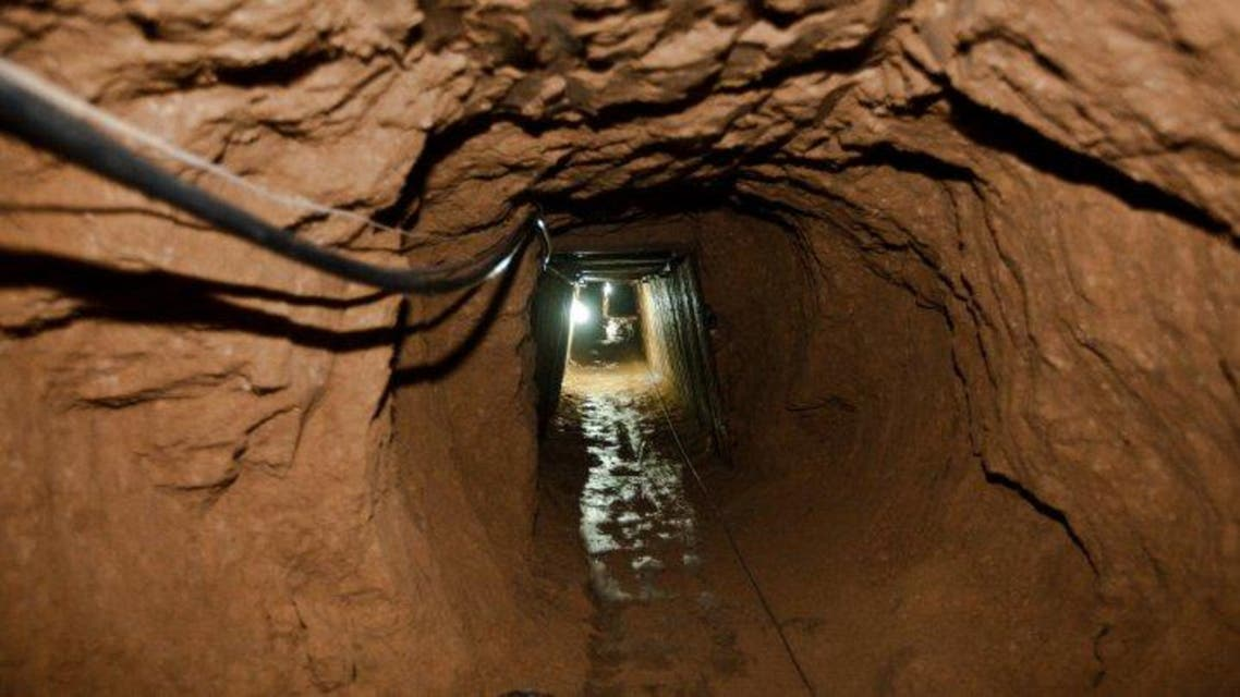 gaza tunnel egypt hamas AFP