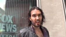 Watch Russell Brand in brawl outside Fox News in New York