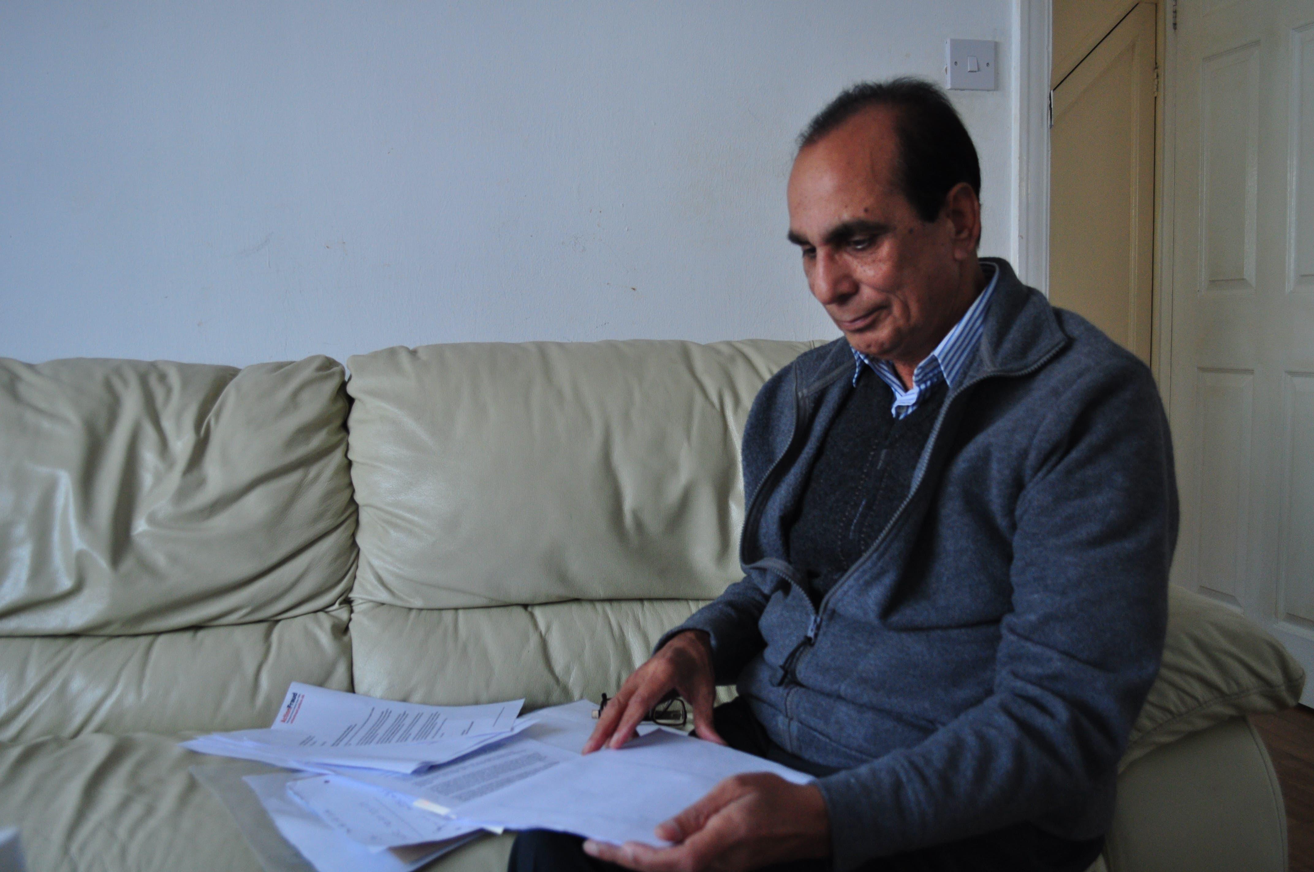 71-year-old British citizen Mohammad Jawaid Mir