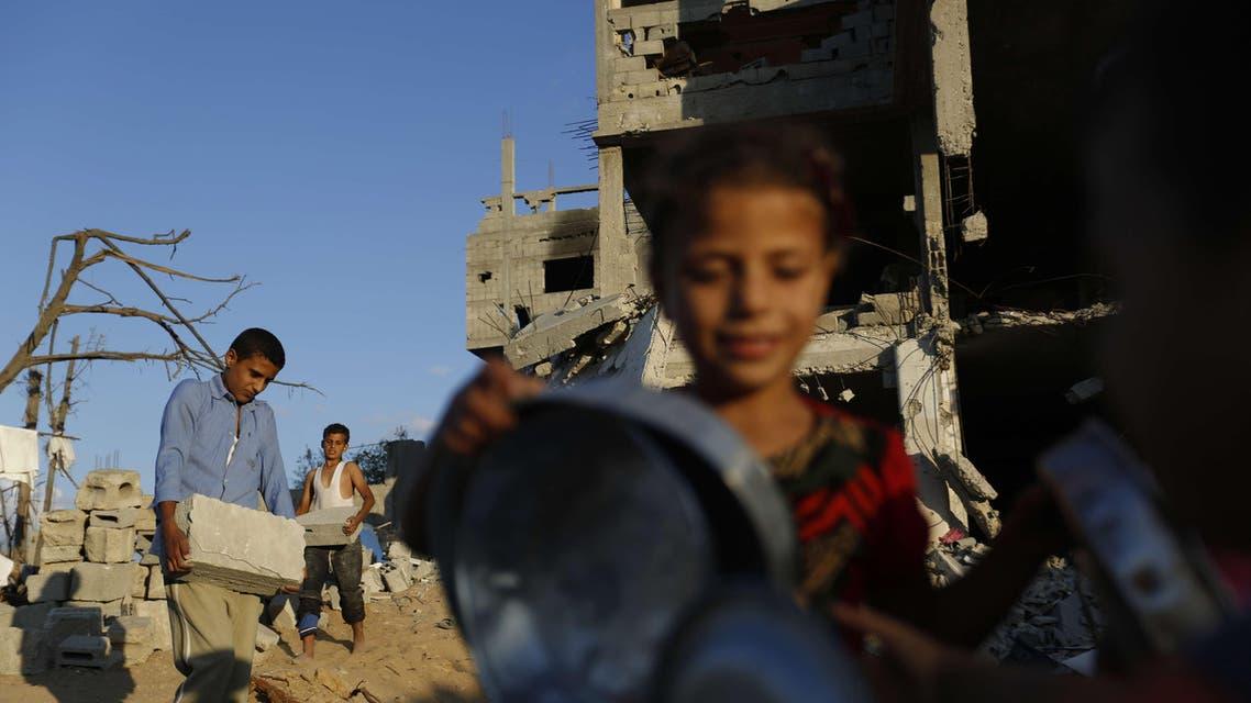 War-ravaged Gaza