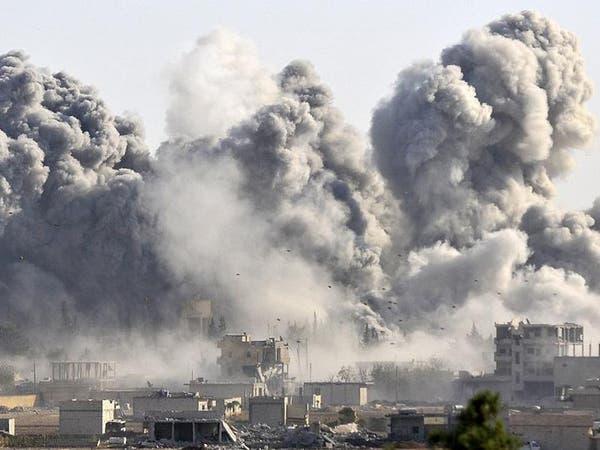 7 غارات على مواقع المتطرفين في كوباني