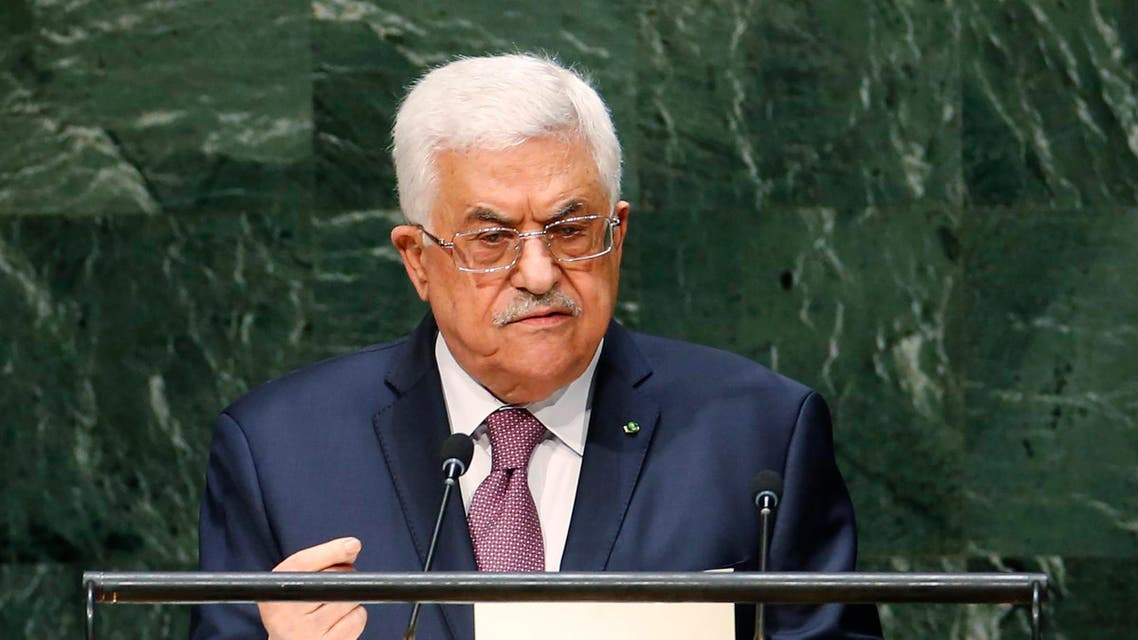 Palestinian President Mahmoud Abbas addresses the 69th United Nations General Assembly at United Nations Headquarters in New York, September 26, 2014. (Reuters)