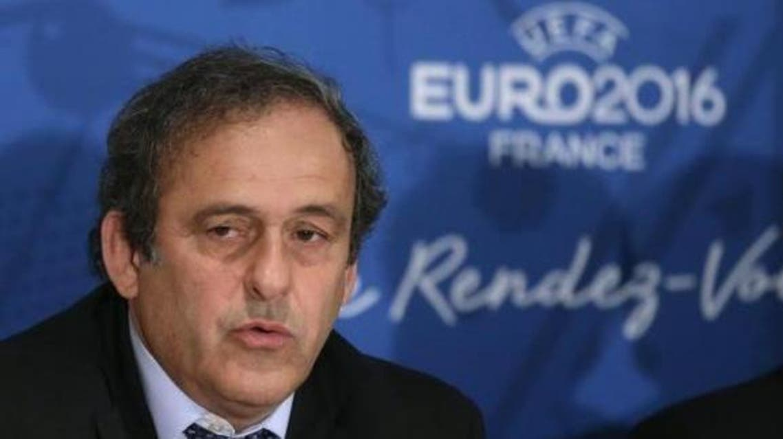 UEFA president Michel Platini attends a news conference after a meeting held in preparation of the EURO 2016 soccer tournament in Paris April 25, 2014. (File photo: Reuters)