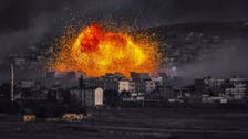 U.S. bombings near Kobane target own supply drop