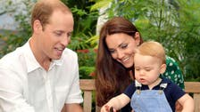 British royal couple's second child due in April