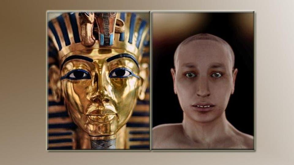 كيف كان شكل فرعون؟