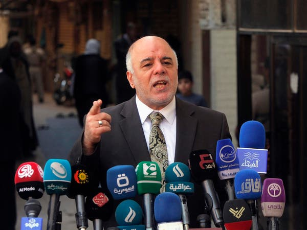 """العبادي يستحدث """"استراتيجية أمنية"""" لحماية بغداد"""