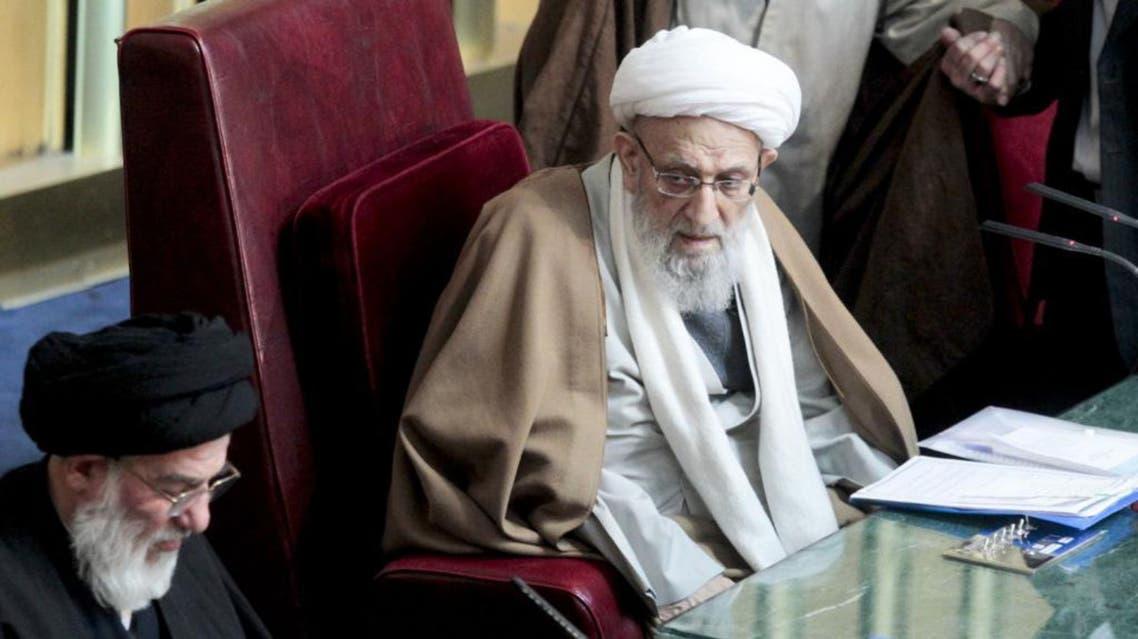 Ayatollah Mohammadreza Mahdavi Kani attends a meeting in 2012. (Photo courtesy: upi.com)