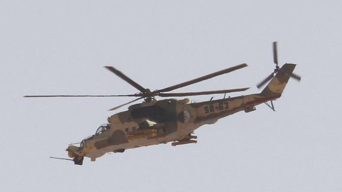 طائرات هيلوكوبتر عمودية الجيش الجزائر