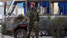 Afghan officials: 10 wounded in Kabul minibus bombing