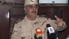حفتر يبحث مع القادة العسكريين بالأردن دعم الجيش الليبي
