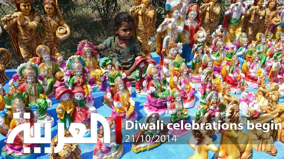 Diwali celebrations begin