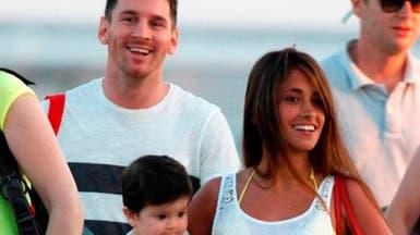 بالفيديو..  ماذا يفعل ميسي وعائلته في دبي؟