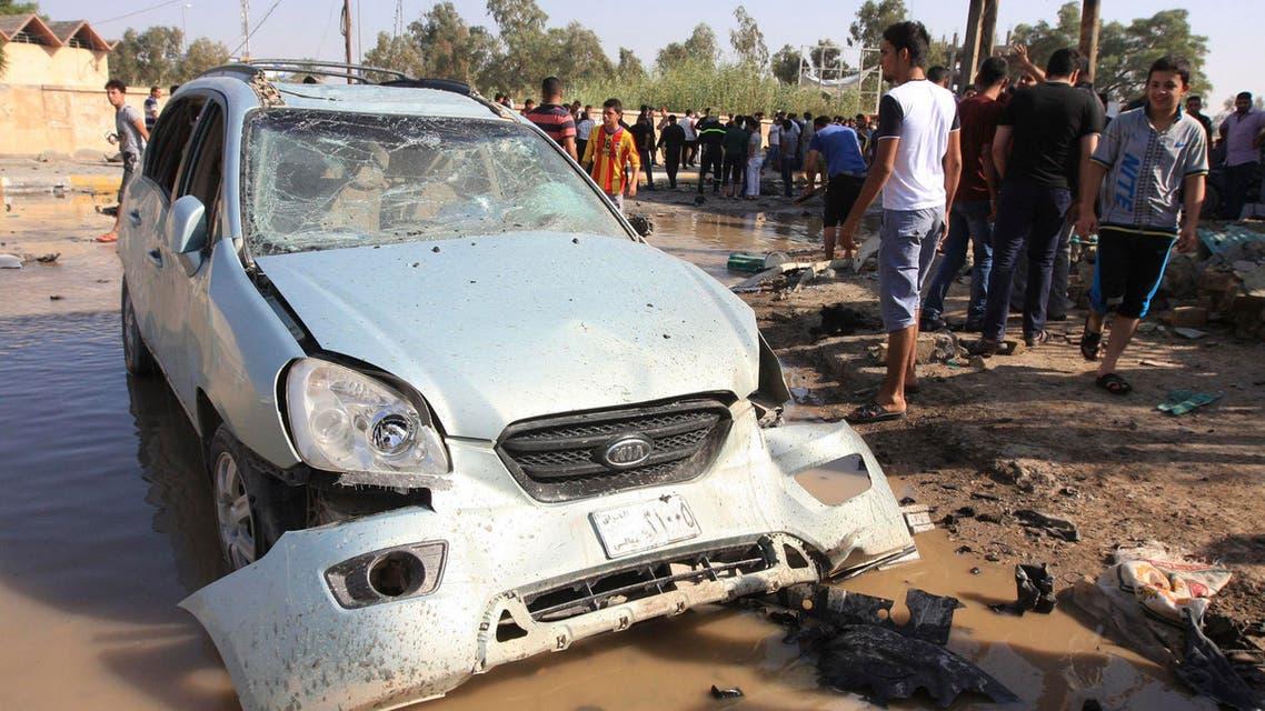 انفجار تفجير في العراق بغداد سيارة مفخخة ملغومة