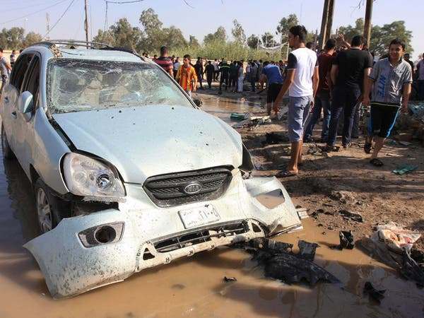 مقتل 4 رجال شرطة بعبوتين ناسفتين شمال بغداد