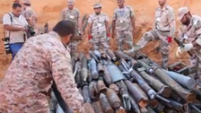 Unexploded ammunition destroyed around Tripoli airport