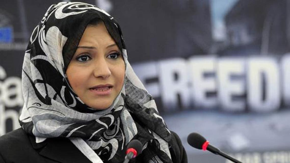 Asma Mahfouz, a leading figure of the uprising that toppled former president Hosni Mubarak, was told she was on list of people not allowed to leave the country. (File Photo: AFP)