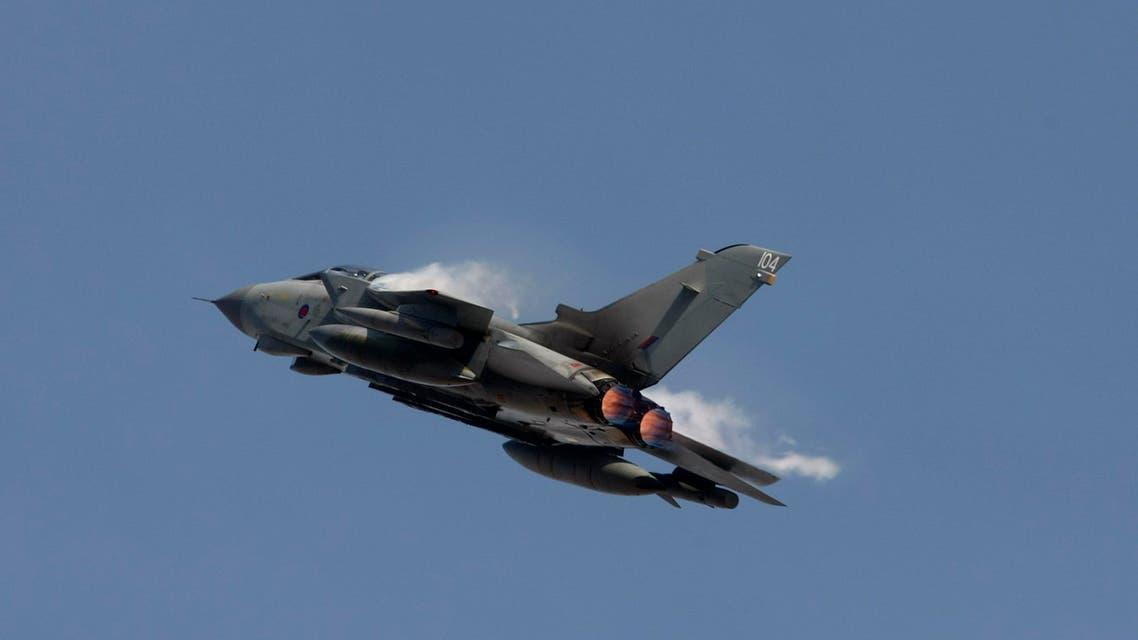 UK warplane tornado jet Reuters
