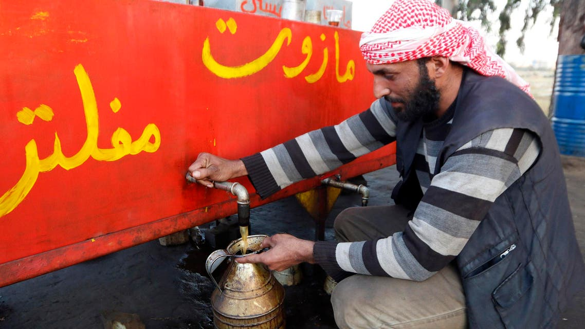 ISIS oil Reuters