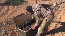 U.S.  arms airdrop fell into ISIS hands: Pentagon