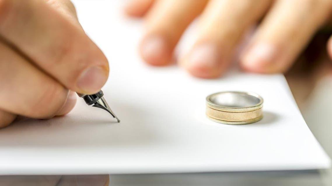 divorce shutterstock