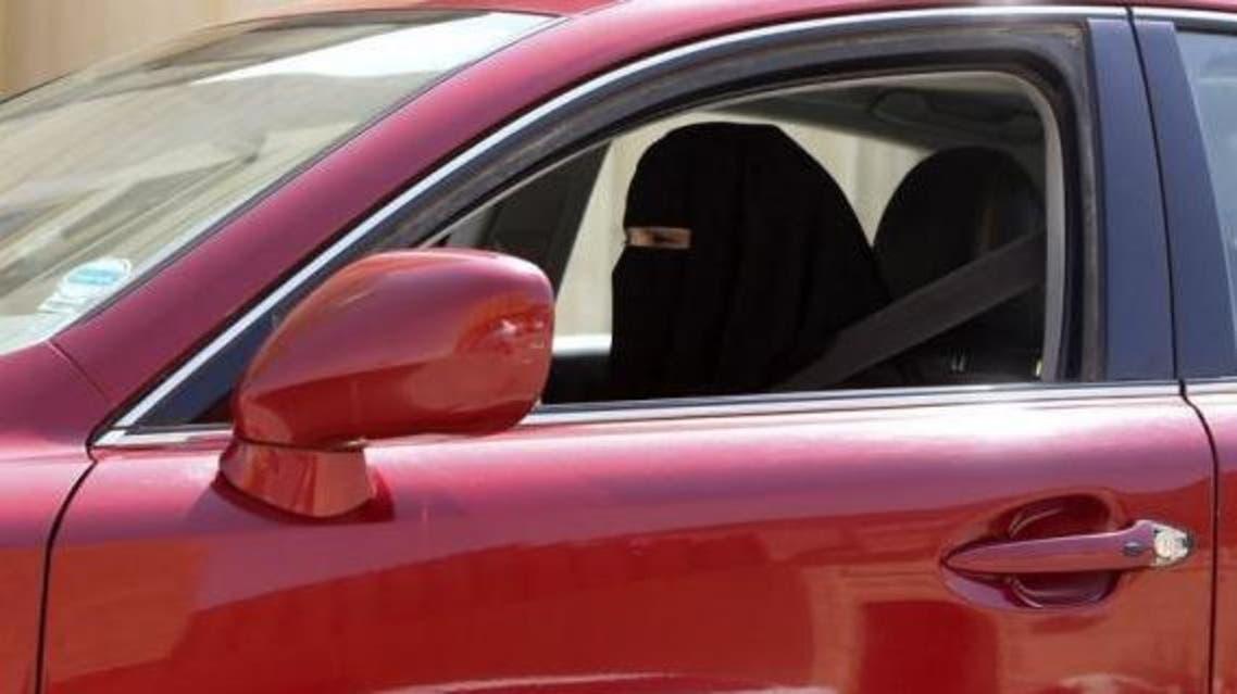 A woman drives a car in Saudi Arabia October 22, 2013.  (Reuters)
