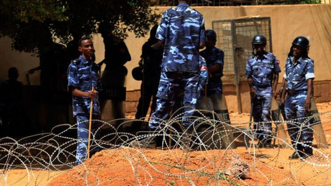 police sudan reuters