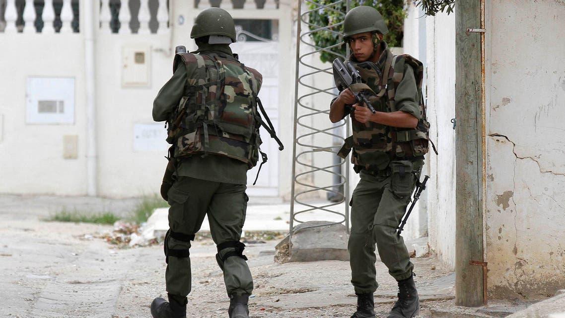هجوم على منزل مسلحين في تونس الشرطة التونسية