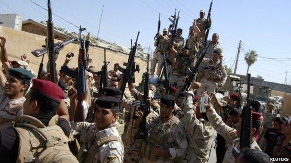 iraq army reuters