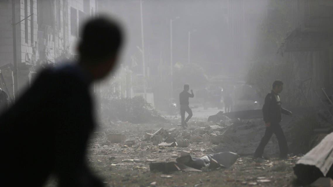 القصف على سوريا قصف في سوريا الجيش السوري يضرب