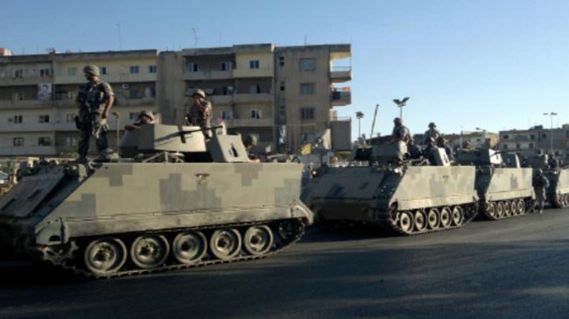 الجيش اللبناني في طرابلس