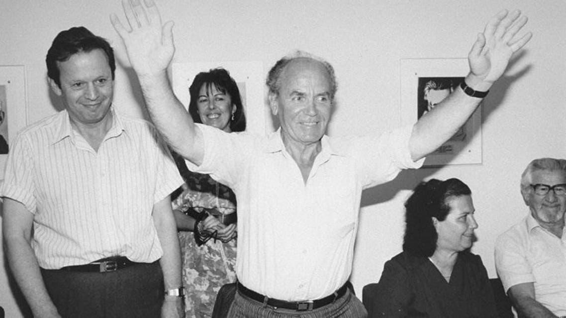 Refik Veseli in Jerusalem in 1991. (Photo courtesy: vadyashem.org)