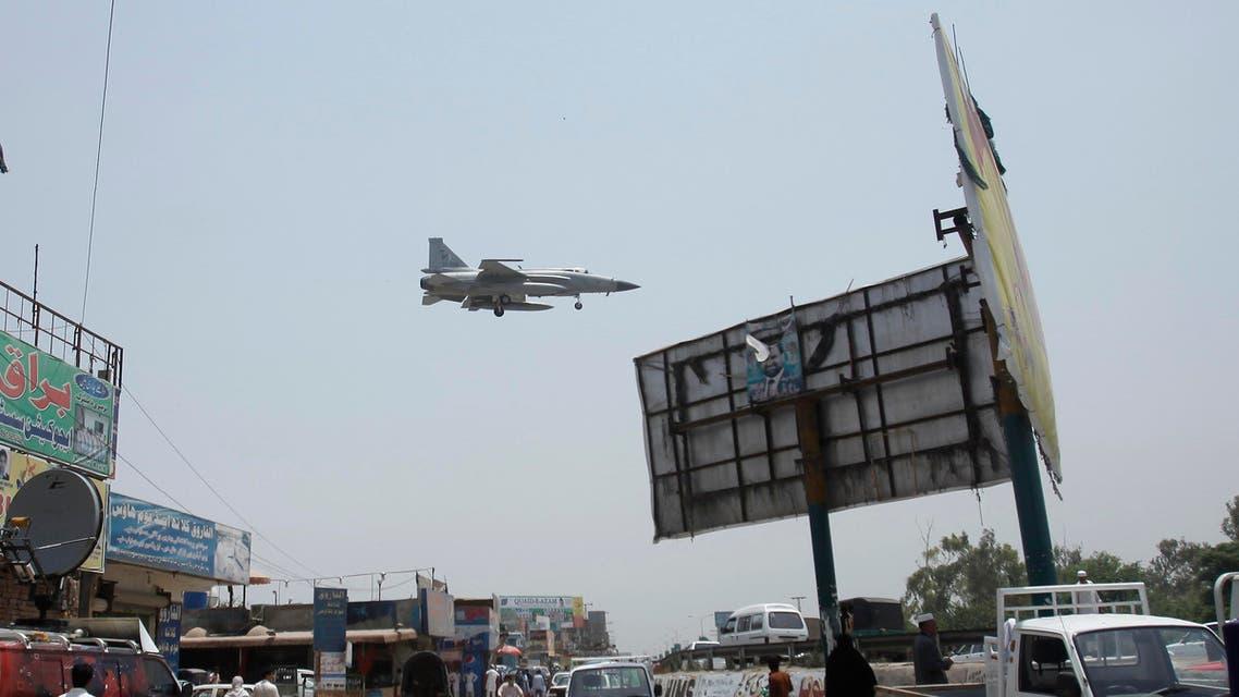 Pakistani air force Reuters warplane Pakistan