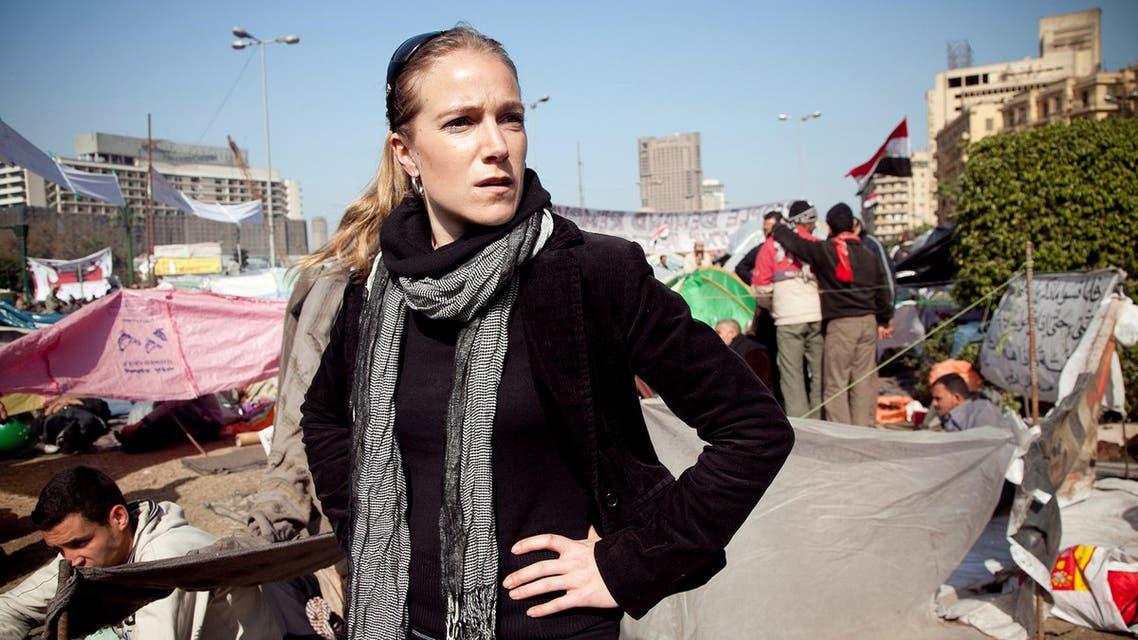 Syrian-American CNN journalist Arwa Damon in Cairo in 2011. (Photo courtesy: iwmf.org)