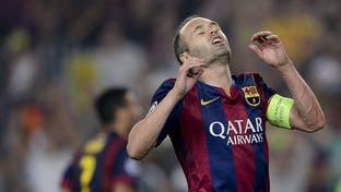 انييستا: لا أريد مغادرة برشلونة