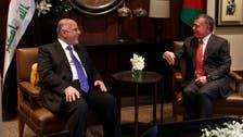 Iraq PM seeks more Jordan help to battle ISIS