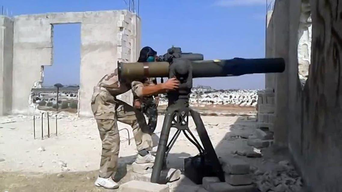مدفع جيش حر سوريا قتال