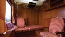 Luxury train pulls into Tehran amid western tourism push