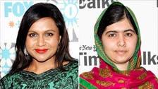 It's Mindy, not Malala! Comedian mistaken for Nobel Prize winner