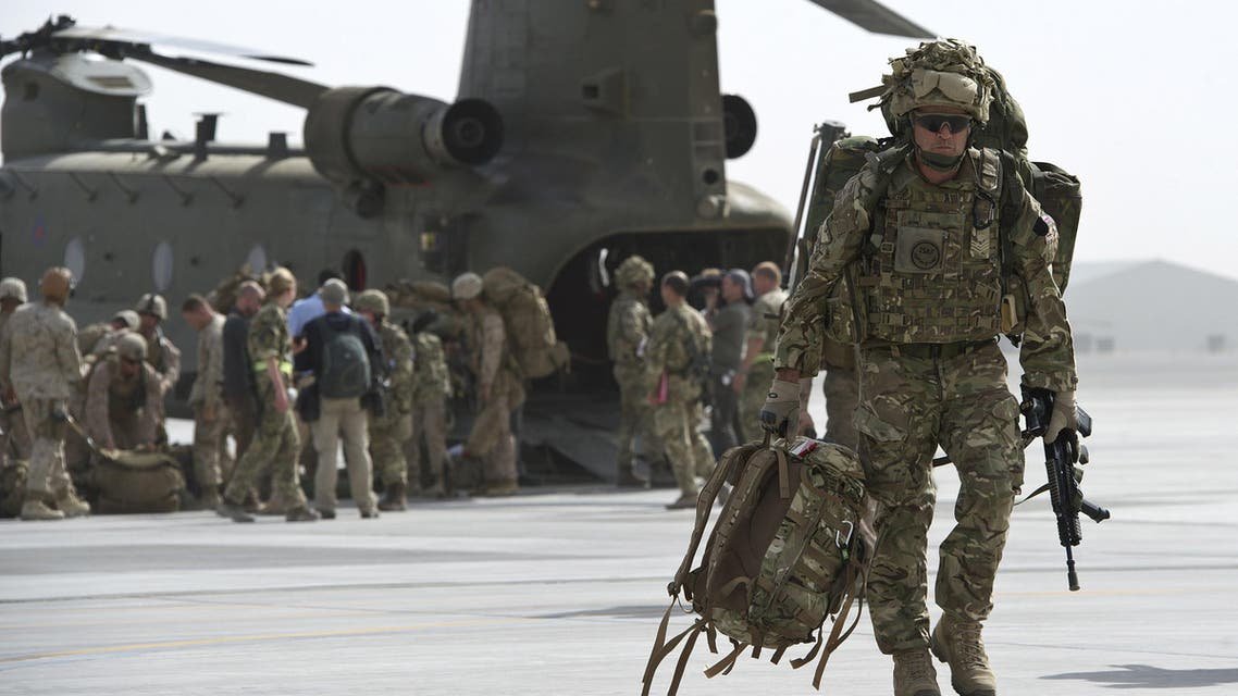 British troops leave Afghanistan after 13 years