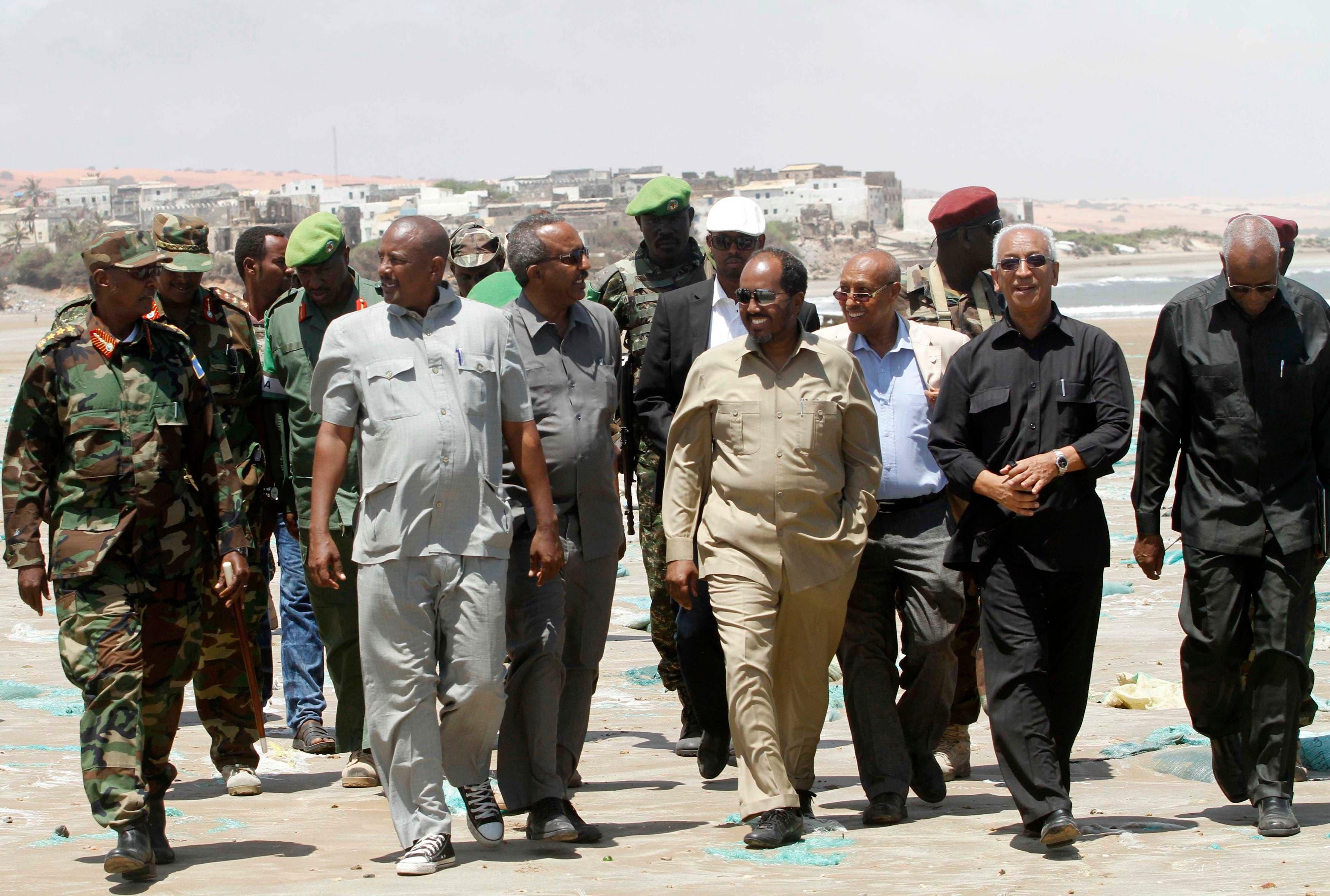 الرئيس الصومالي (أرشيفية)