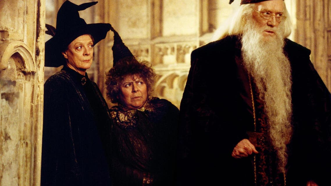 Professor Pomona Sprout (M), Miriam Margolyes' character in the Harry Potter film series. (Photo courtesy: Warner Bros.)