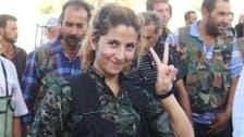 Female Kurdish 'poster girl' fighter feared killed